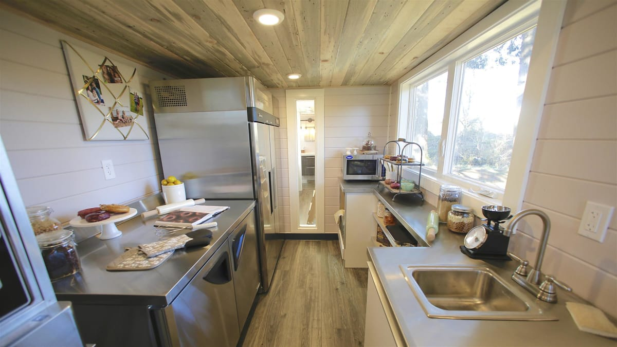 Kentucky entrepreneurs take their business on the road in a Tiny Home.