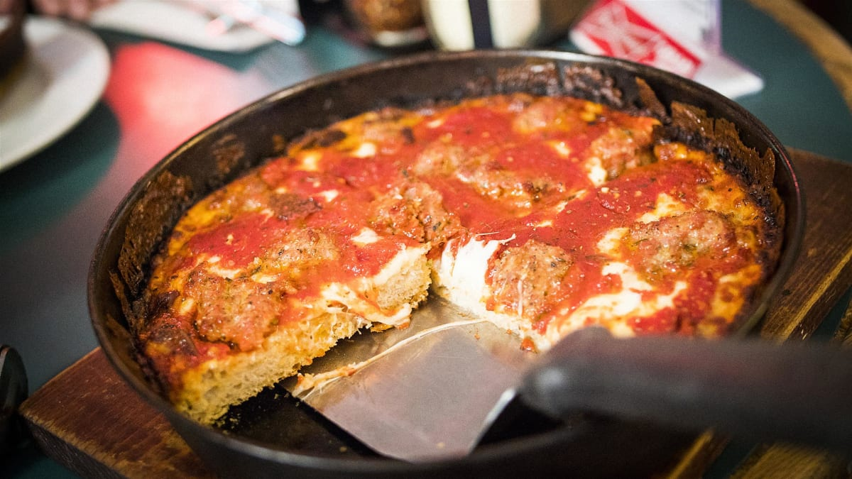 Andrew gets a bite of Chicago classics as well as fare from new hot spots.