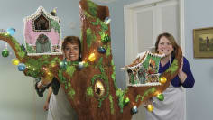 Fairy Houses and Holiday Art
