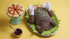 Stuffed Crispy Treat Turkey